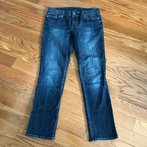 LEVI's 552   Mid Rise Straight Jeans
